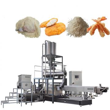 Automatic Shrimp Fish Beef Chicken Dressing Japaness Plain Panko Bread Crumbs Making Machine Supplier