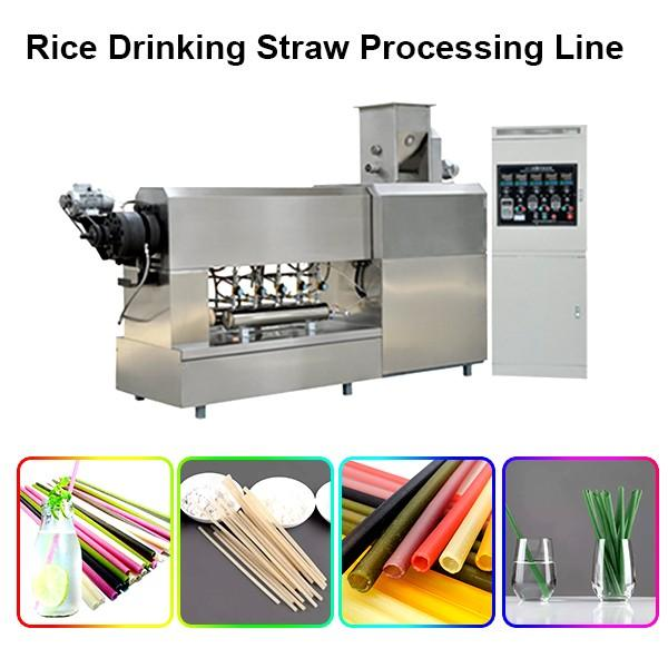 100-150kg/H Small Capacity Rice Straw Machine/ Edible Straw Processing Line #1 image