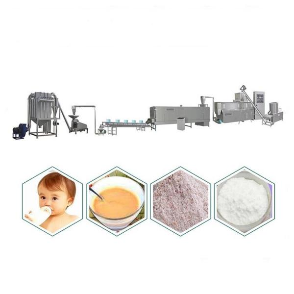 Nutritional Baby Food Rice Powder Extruder Making Machine Processing Plant Production Line #1 image