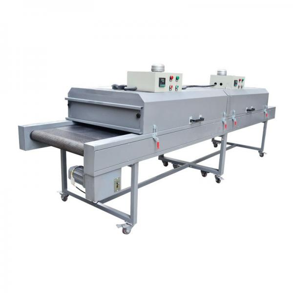 IR Hot Drying Tunnel Drying Oven Dryer Machine for Plastic Sheet Screen Printing #3 image