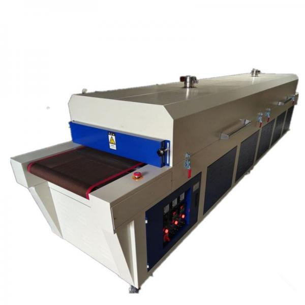 IR Hot Drying Tunnel Machine for Screen Printing and Pad Printing Making Products Be High Flexibility and High Gloss #2 image